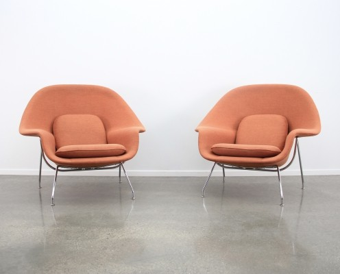 4 x Womb arm chair by Eero Saarinen for Knoll, 1990s