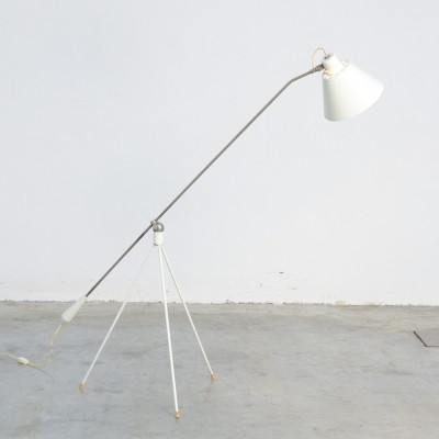 Magneto Floor Lamp by H. Fillekes for Artiforte,1950s