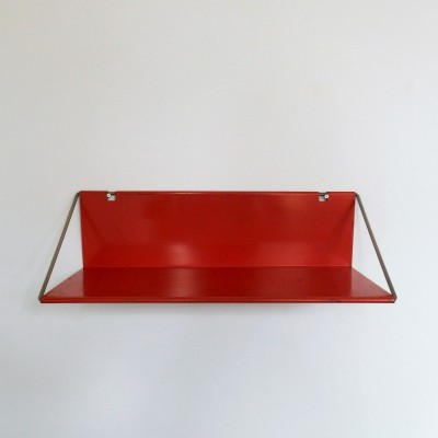 Red 'Utrecht' shelf by Constant Nieuwenhuys for 't Spectrum (NL), 1956