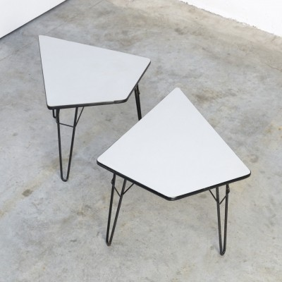 T2 Tangram Side Table by Willy Van Der Meeren for Tubax, 1954