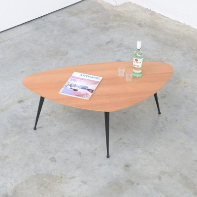 Rare Birch 'TB 39' Coffee Table by Cees Braakman for Pastoe, 1953