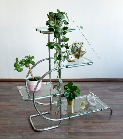 Flower Stand by Emile Guyot for Thonet Mundus, 1930s