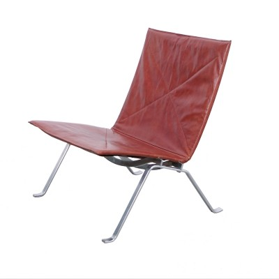 PK22 lounge chair by Poul Kjærholm for E. Kold Christensen, 1970s