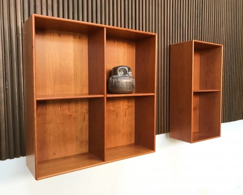 Danish Montana Show Shelving Wall Units by Peter J. Lassen, 1982