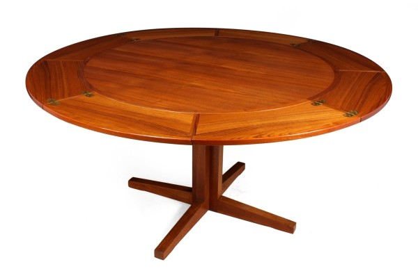Flip Flap Table by Dyrlund in Teak, c1960