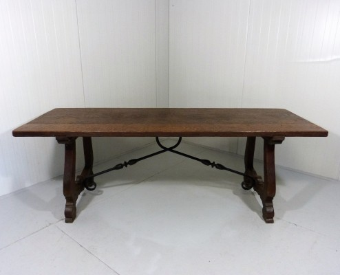 Spanish Castle Dining Table, 1960's