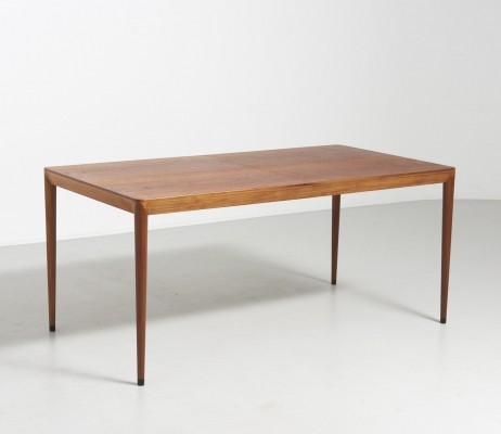 Teak dining table by Severin Hansen, 1960's