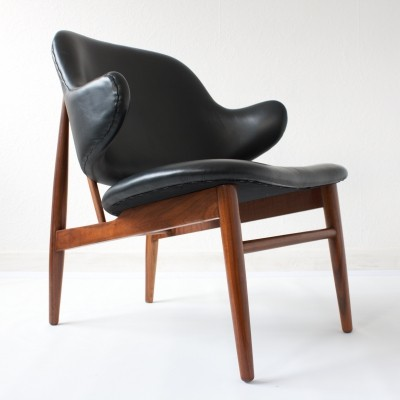 Danish Shell Chair by Ib Kofod-Larsen for Christensen & Larsen, c.1960
