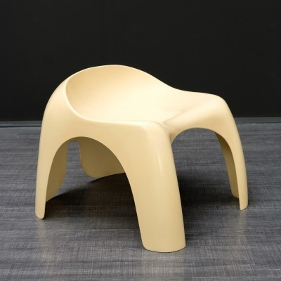 2 x stool by Stacy Dukes for Artemide, 1970s