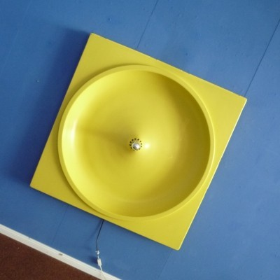 Pop Art Plastic Wall Lamp Element, 1970s