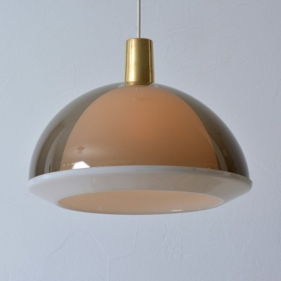 Kuplat 400 hanging lamp by Yki Nummi for Stockmann Orno, 1960s