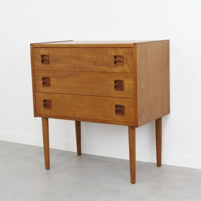 Dutch design chest of drawers in teak, 1960s
