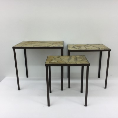 Vintage nesting tables, 1970's