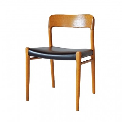 4 x No 75 dining chair by Niels O. Møller for J L Møller, 1970s