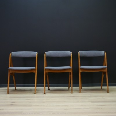 3 x dining chair by Th. Harlev for Farstrup Møbler, 1960s