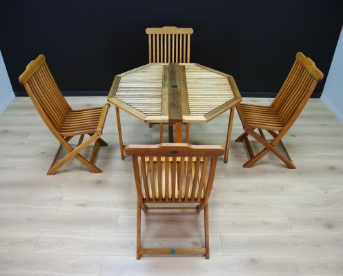 Scandinavian design Terrace set, 1970s