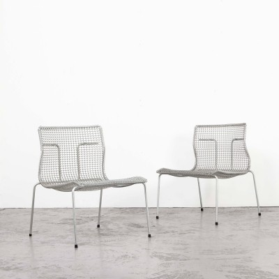 Niall O'Flynn Pair of Easy Chairs for 't Spectrum, 1997