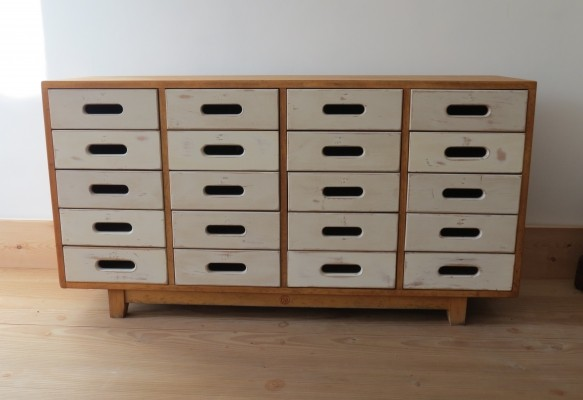Midcentury Chest of Drawers designed by James Leonard for Esavian