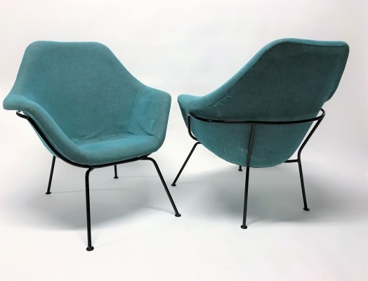 Pair of Vintage lounge chairs by Miroslav Navratil, 1950s