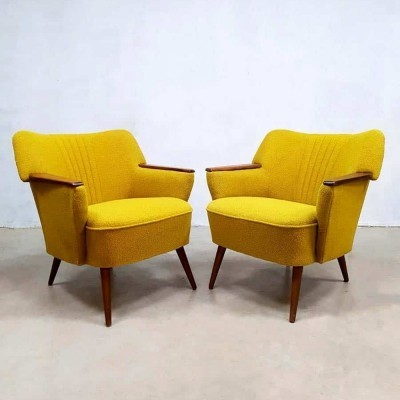 Pair of Midcentury modern Artifort armchairs, 1950s