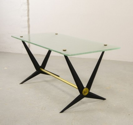 Mid-century italian design side table by Angelo Ostuni, italy 1950s