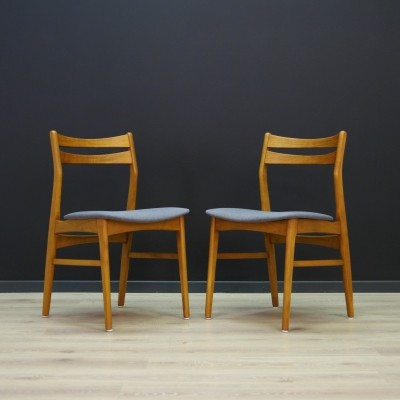Pair of vintage dining chairs, 1970s