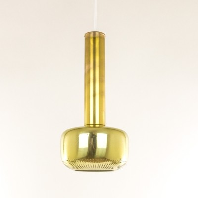 Brass Guldpendel by Vilhelm Lauritzen for Louis Poulsen, 1950s