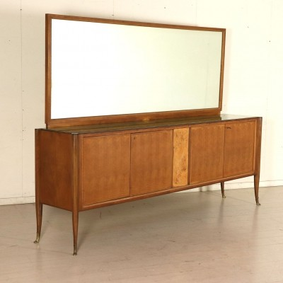 Sideboard with Mirror, 1950s