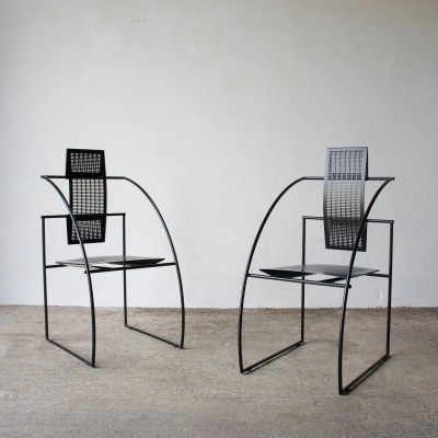A Pair Of Quinta Chairs By Mario Botta For Alias