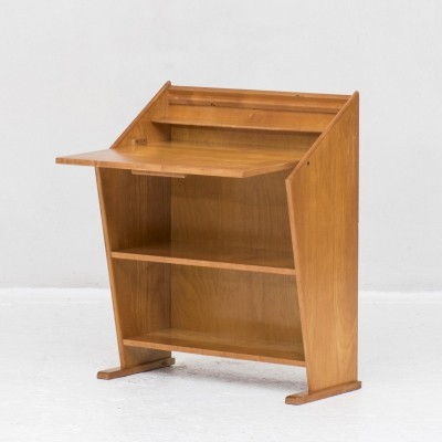Sculptural secretary by Cor Alons & produced by Gouda den Boer, 1950