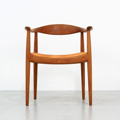 Hans Wegner 'The Chair' Armchair for Johannes Hansen