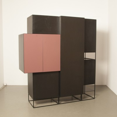 Vision & Boxes cabinet by Pierre Mazairac & Karel Boonzaaijer for Pastoe, 1980s