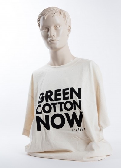 First organic cotton T-shirts in the world in original wood box