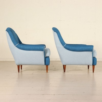 Pair of Armchairs, Italy 1950s