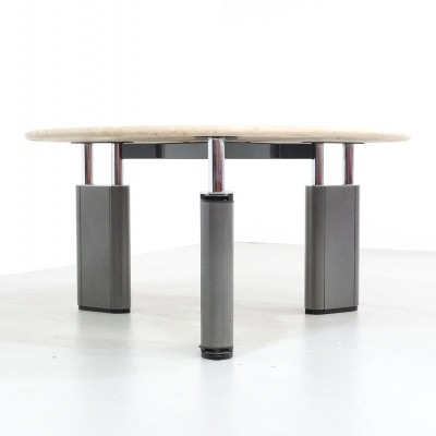KUM dining table by Gae Aulenti for Tecno, 1980s