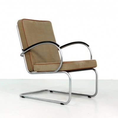 3 x model 409 lounge chair by W. Gispen for Gispen, 1950s