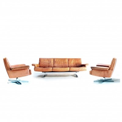 DS31 seating group by De Sede, 1970s