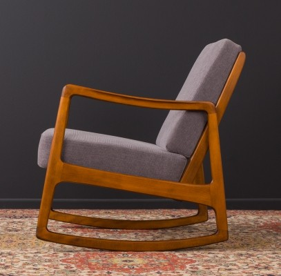 Danish rocking chair by Ole Wanscher for France & Daverkosen, 1950s