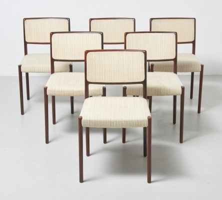 Set of 6 'model 80' dining chairs by Niels O. Møller