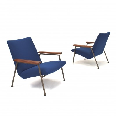 Pair of Lotus lounge chairs by Rob Parry for Gelderland, 1950s