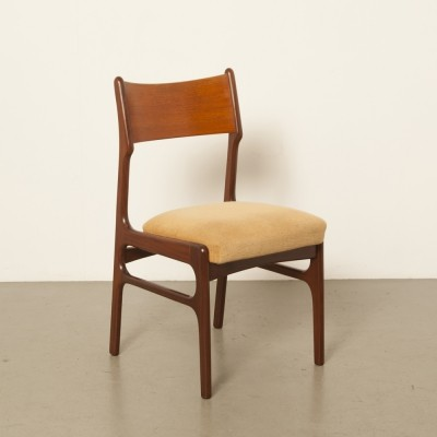 4 x Dutch rosewood dining-room chair