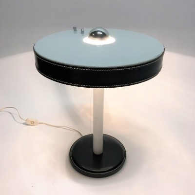 Vintage table lamp by Adnet, 1950s
