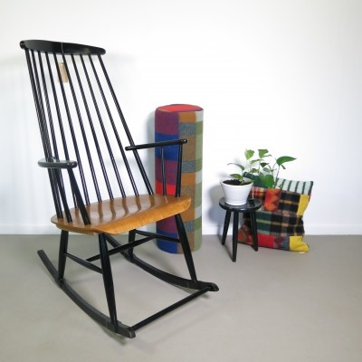 Mademoiselle rocking chair by Ilmari Tapiovaara, 1960s