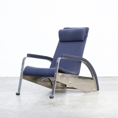 Grand Repos - D80-1 lounge chair by Jean Prouvé for Tecta, 1980s