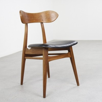 Dinner chair by Louis van Teeffelen for Wébé, 1960s