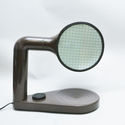 Drive desk lamp by Adalberto Dal Lago for Bieffeplast, 1970s