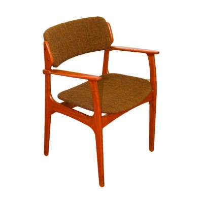 Model 49 Danish armchair by Eric Buck for O.D. Møbler, 1960s