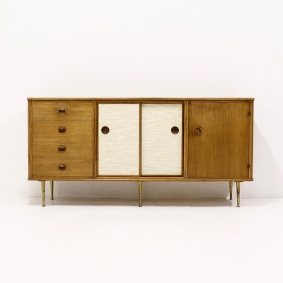 Walnut Sideboard by William Waiting for (Fristho) Modernord, 1960s