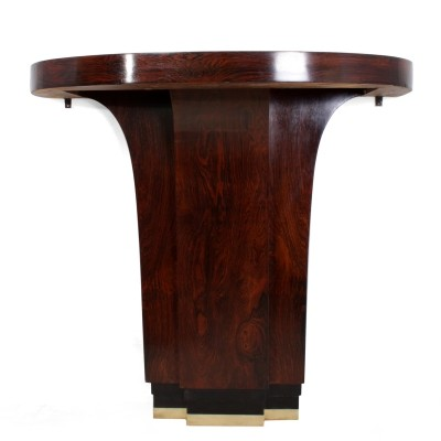 Art Deco Console Table in Rosewood