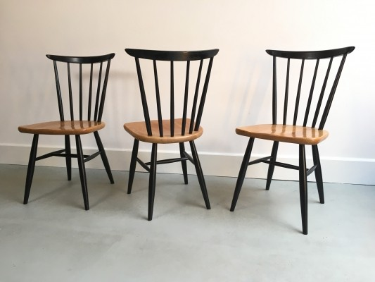 3 x vintage dining chair, 1950s